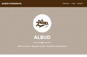 albud - strona internetowa
