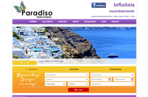 paradiso wakacje strona www