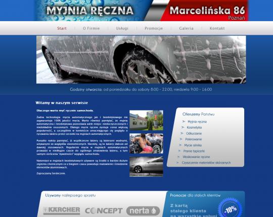 strona internetowa myjni forest