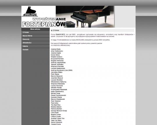 pianoforte www