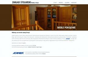 wygląd strony głównej www