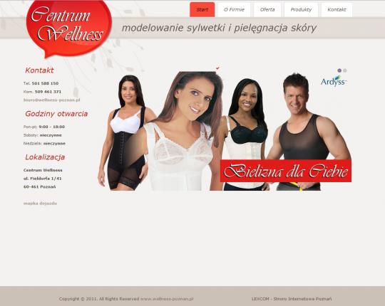 wellness katalog produktów
